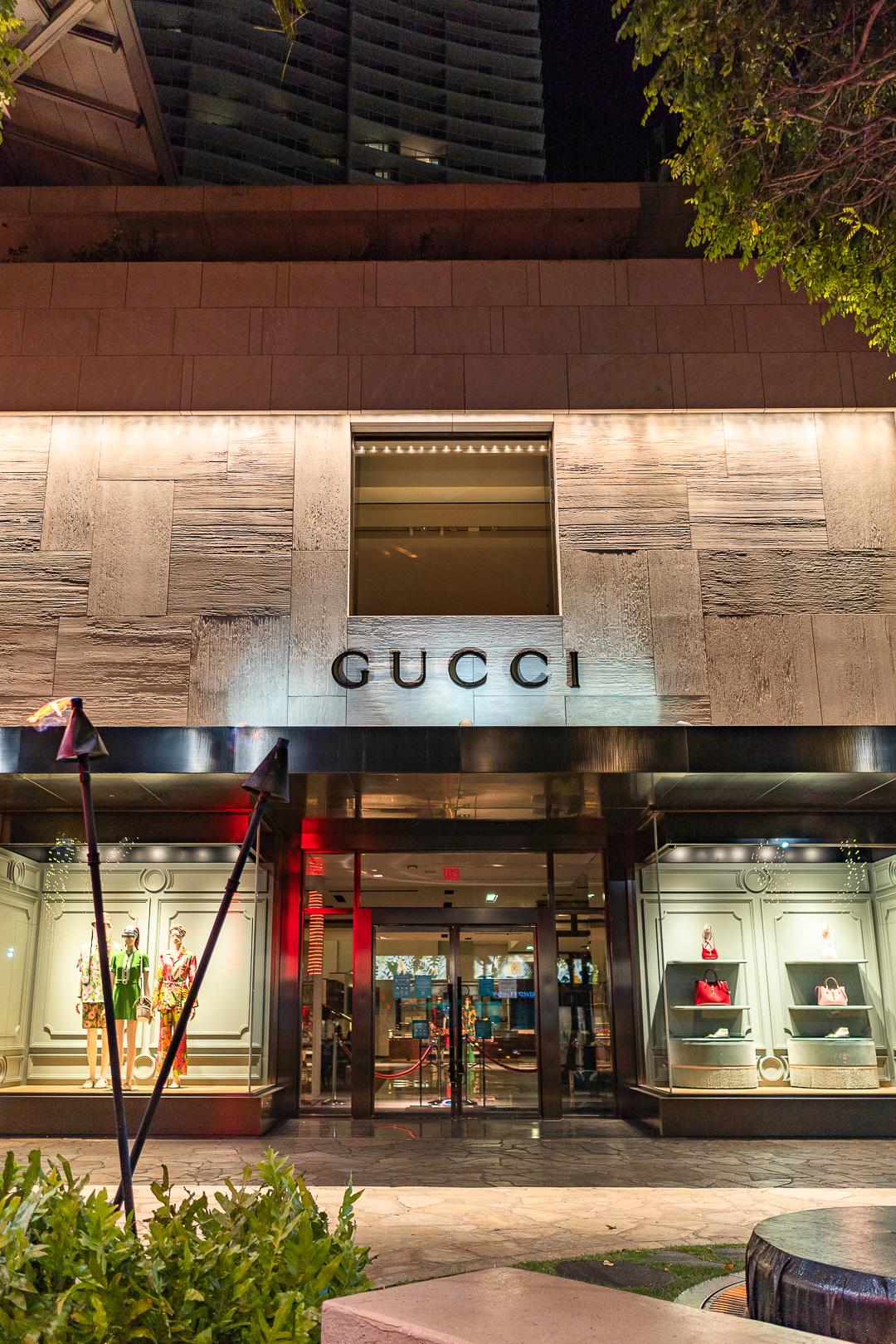 Gucci Hawaii Waikiki