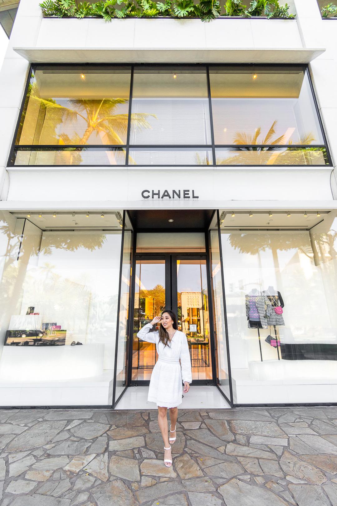Chanel Hawaii Waikiki Store
