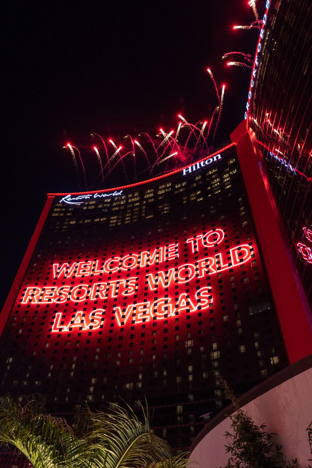 Resorts World Las Vegas Grand Opening Party